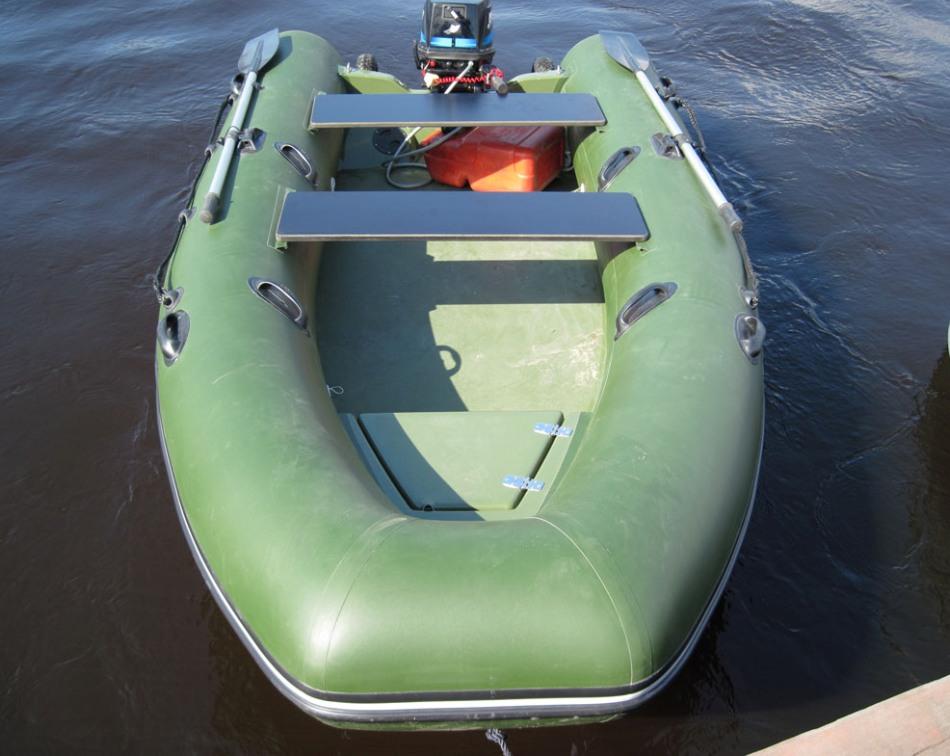 комплектация и оборудование лодки