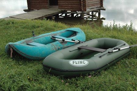 Как заклеить резиновую лодку