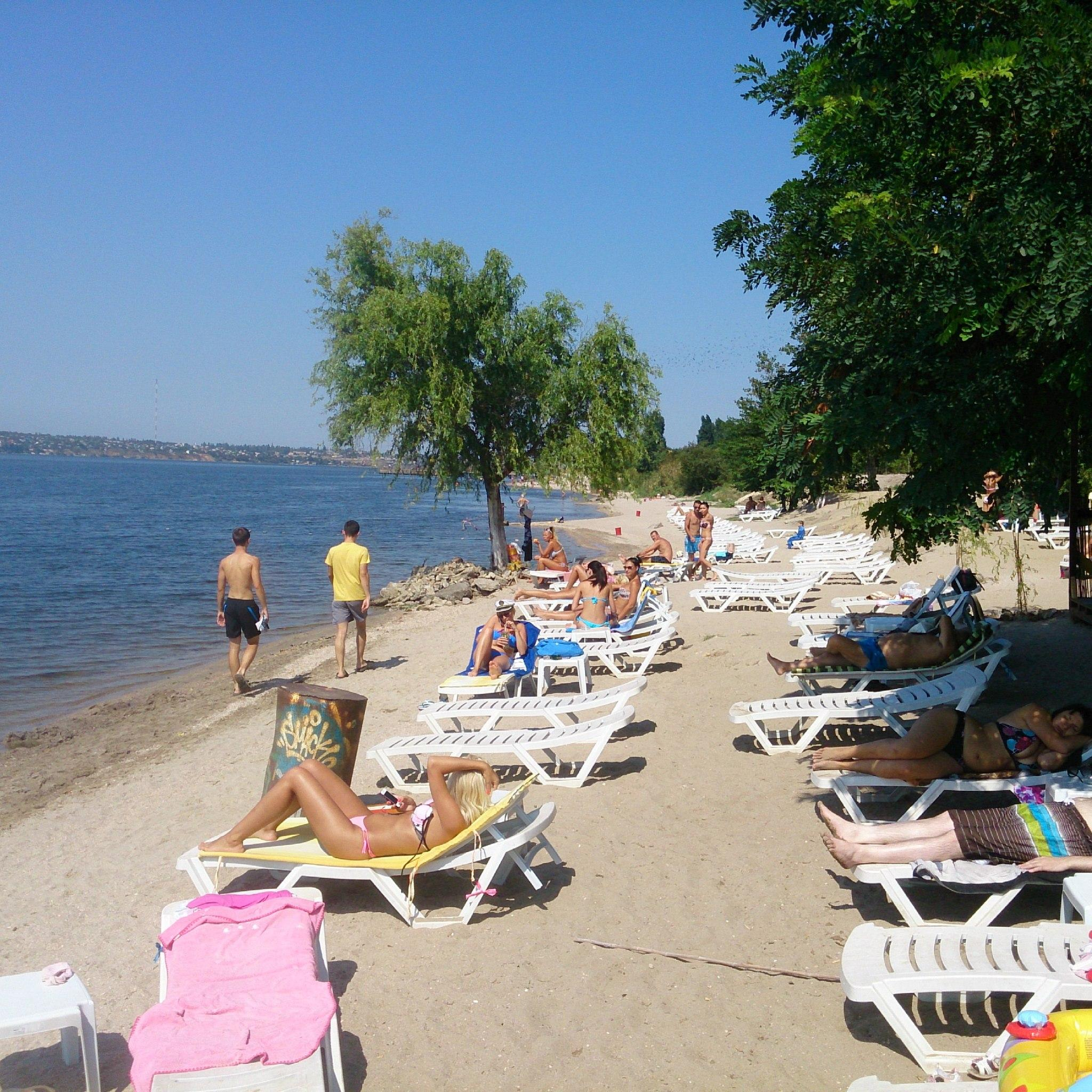 Пляж в николаеве фото