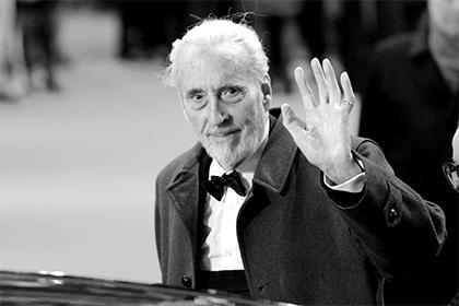 Ввозрасте 93 лет скончался ветеран киноиндустрии Кристофер Ли