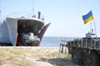 Украинские морпехи провели тактические учения на Николаевщине, - Минобороны - Цензор.НЕТ 4008