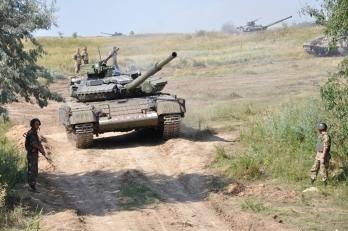 Украинские морпехи провели тактические учения на Николаевщине, - Минобороны - Цензор.НЕТ 3442