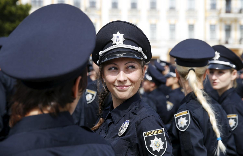 Фото патрульных девушек