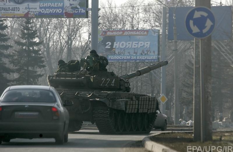 Боевики атаковали Широкино. Морпехи держат позиции
