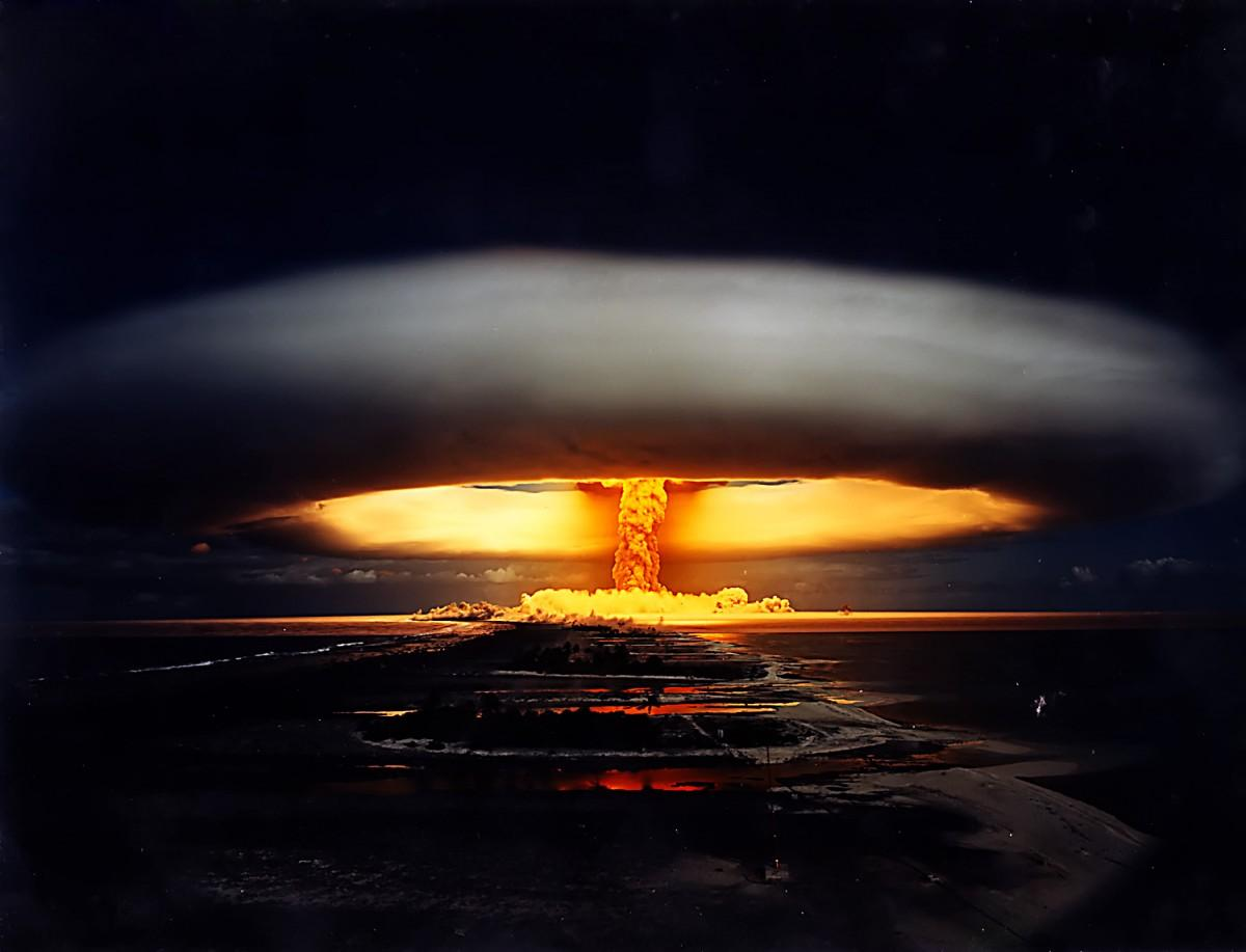 Самые мощные ядерные взрывы вистории показали навидео