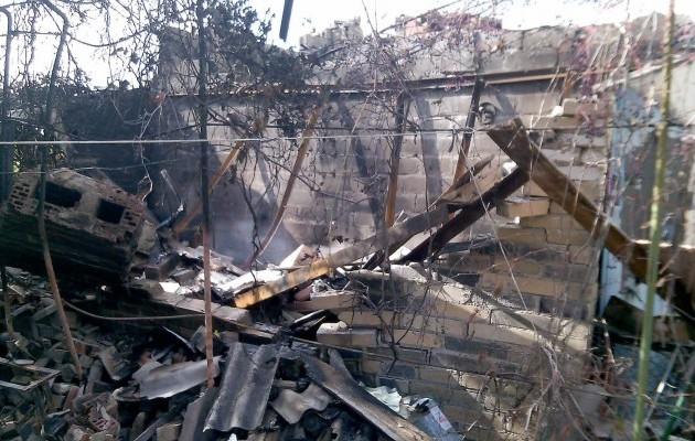 Под Мариуполем боевики артиллерией уничтожили сразу целую улицу