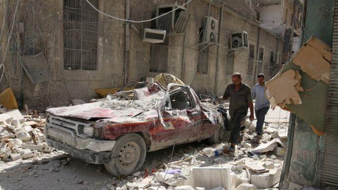 Россия объявила опрекращении авиаударов врайоне Алеппо