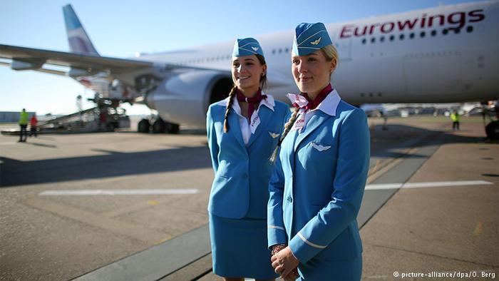ВГермании отменили 380 рейсов из-за забастовки бортпроводников