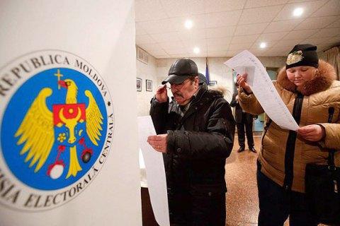 Впервом туре президента страны выбрать неудалось— ЦИК Молдовы