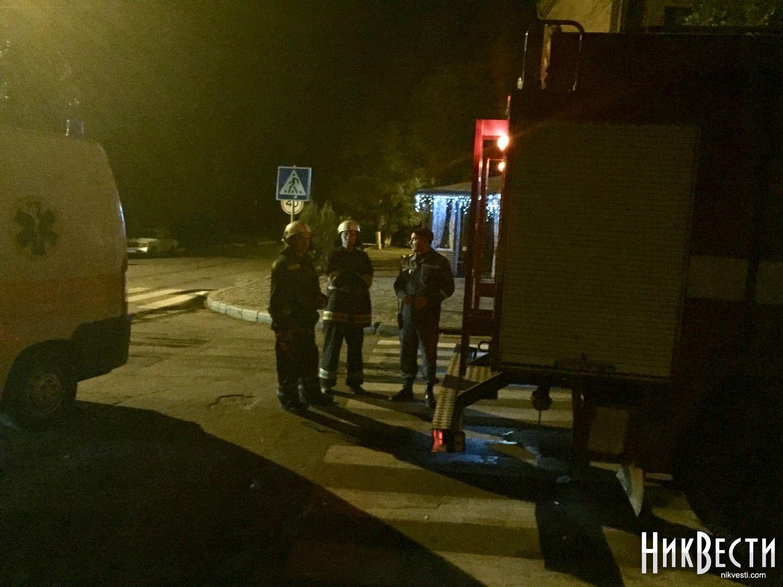 ВНиколаеве после огромного пожара в поликлинику попали трое детей