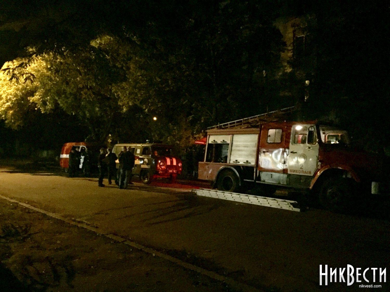 ВНиколаеве загорелось общежитие— всех граждан эвакуировали