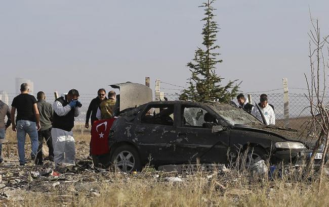 Два террориста взорвали себя вАнкаре впроцессе операции милиции
