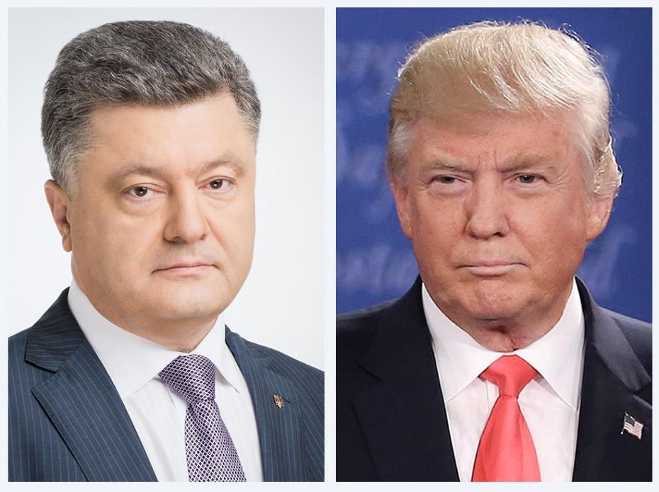 Pr-служба Трампа не обнародовала новость оразговоре сПорошенко