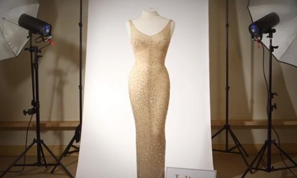 Одеяние и иные вещи Мэрилин Монро выставлены на реализацию