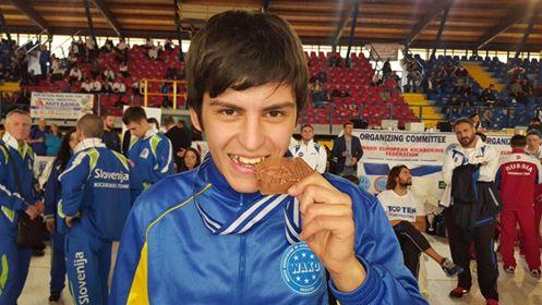 Юлия Городецкая иНикита Селянский— чемпионы Европы