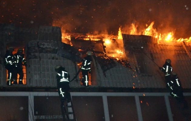 ВОдессе произошел масштабный пожар вновострое: сгорело 10 квартир