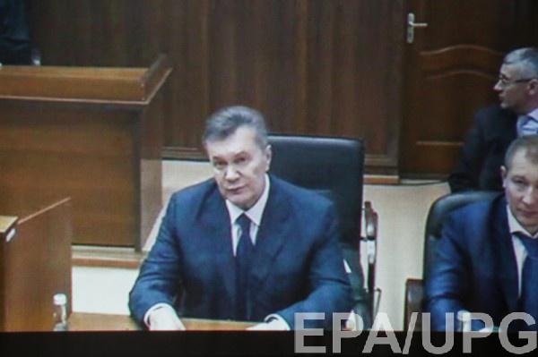 Янукович прокомментировал контакты сПутиным: «Янепомню»