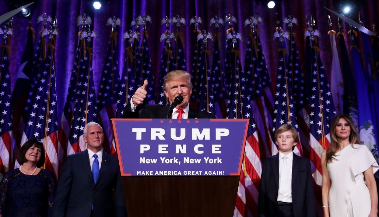 Жителям Америки пора объединиться ради нашей общей мечты— Победная речь Трампа