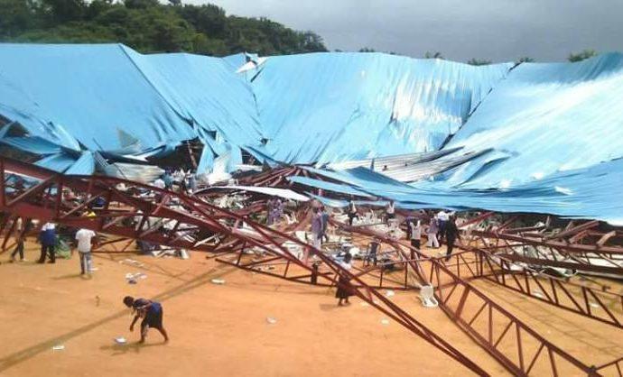 ВНигерии десятки человек погибли из-за обрушения крыши церкви