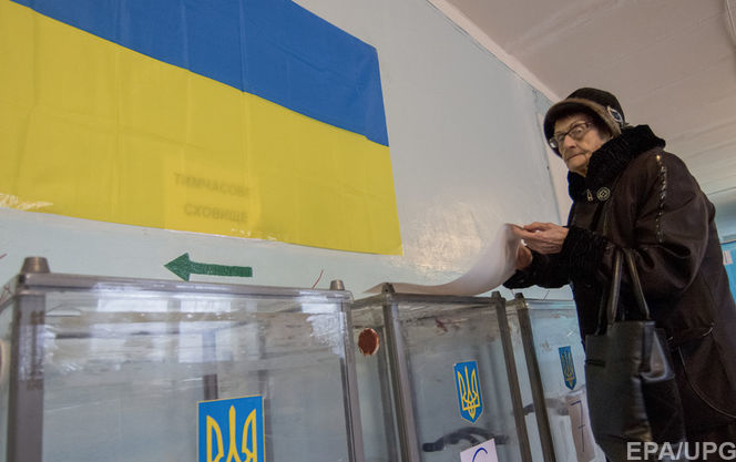 ВХерсонской области навыборах территориальных общин зафиксирована невысокая явка избирателей