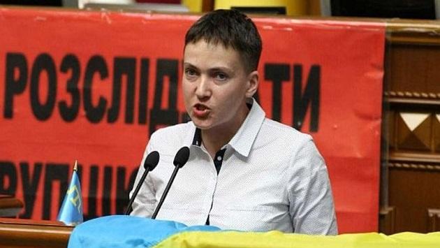 Савченко может выйти изсостава украинской делегации вПАСЕ