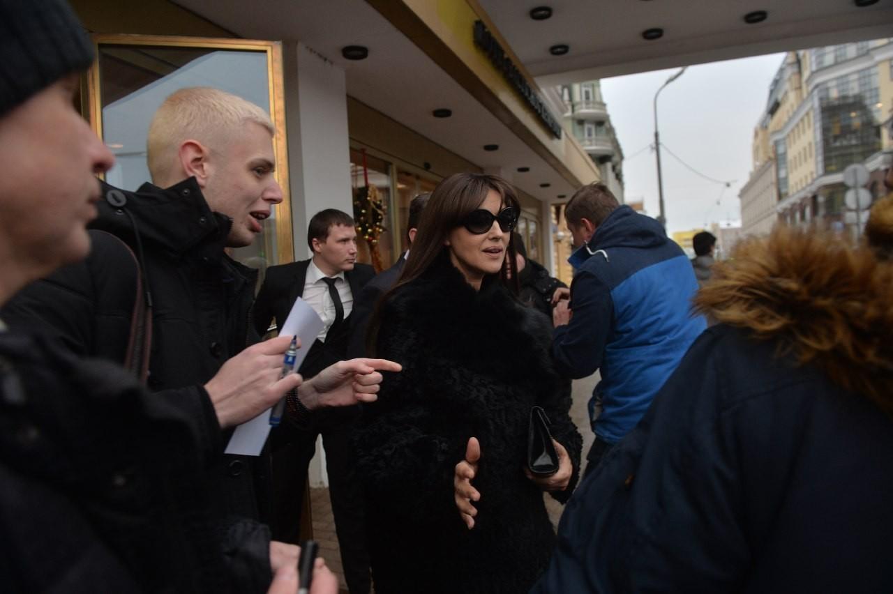 Охрана Беллуччи избила русских репортеров уотеля «Балчуг»