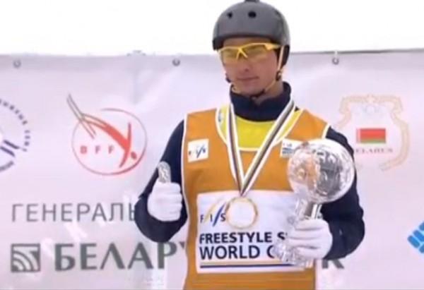 Николаевец Александр Абраменко одержал победу Кубок мира пофристайлу