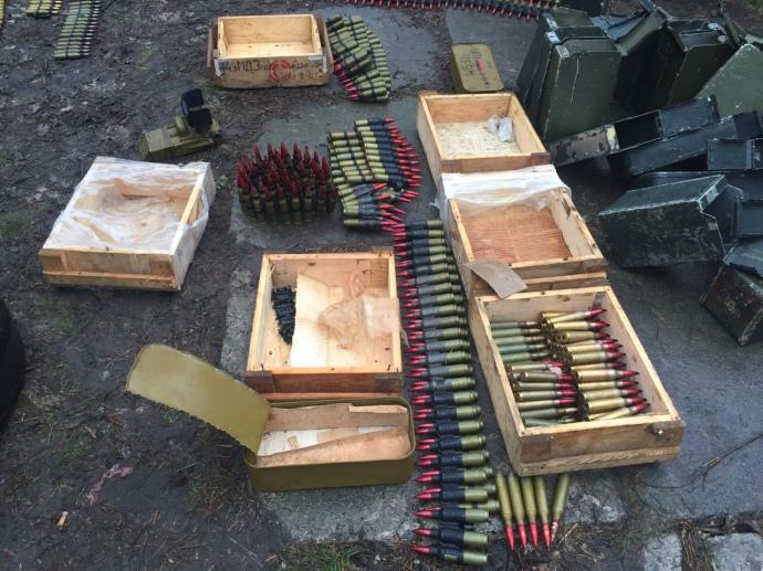 Правоохранители предотвратили ввоз встолицу Украинского государства масштабной партии оружия иззоны АТО