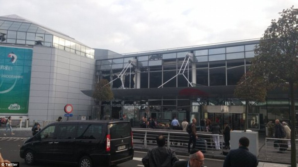 Аэропорт Брюсселя останется закрытым ивчетверг