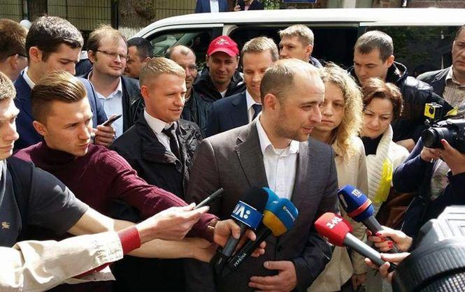 Мэр Вышгорода вышел из-под ареста после внесения 5 млн. грн залога