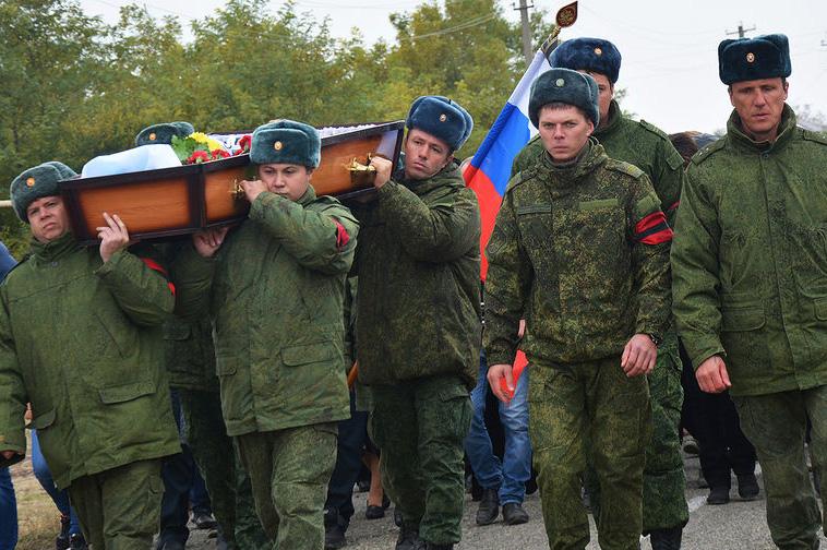 Английские СМИ узнали осотнях погибших русских офицеров вСирии