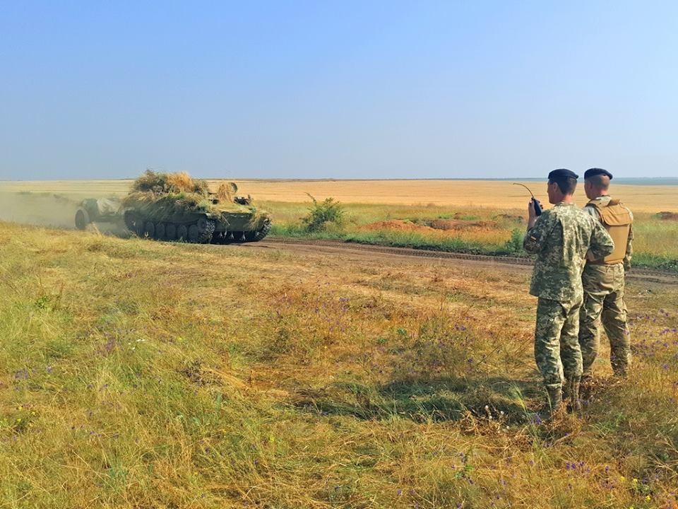 Минобороны Украины объявило опроведении военных учений наюге страны