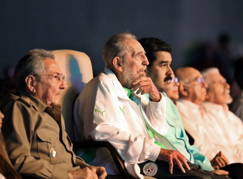 Фидель Кастро появился напублике послучаю своего юбилея