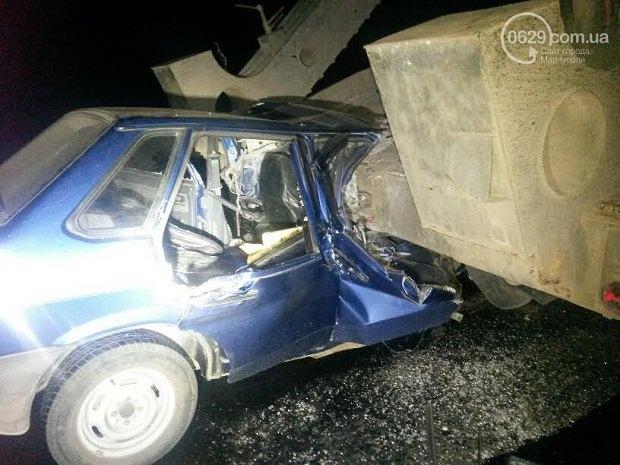 Под Мариуполем случилось смертельное ДТП своенной техникой