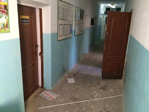 Вздании райгосадминистрации Белой Церкви прогремел взрыв