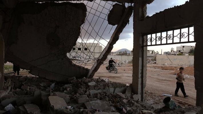 Первая группа боевиков покинула юго-западное предместье Дамаска