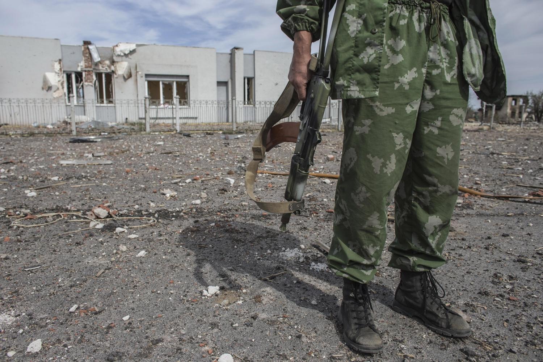 Террористы изГрадов обстреляли позиции сил АТО вКрасногоровке