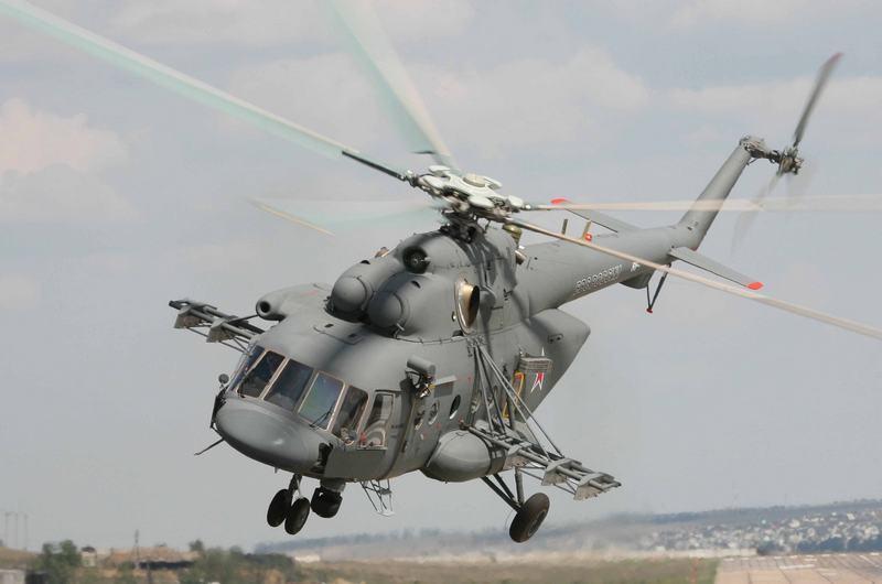 Наадмингранице сКрымом увидели русский Ми-8— ГПСУ