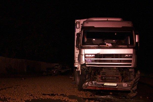 ВИвано-Франковской области фура насмерть сбила полицейского