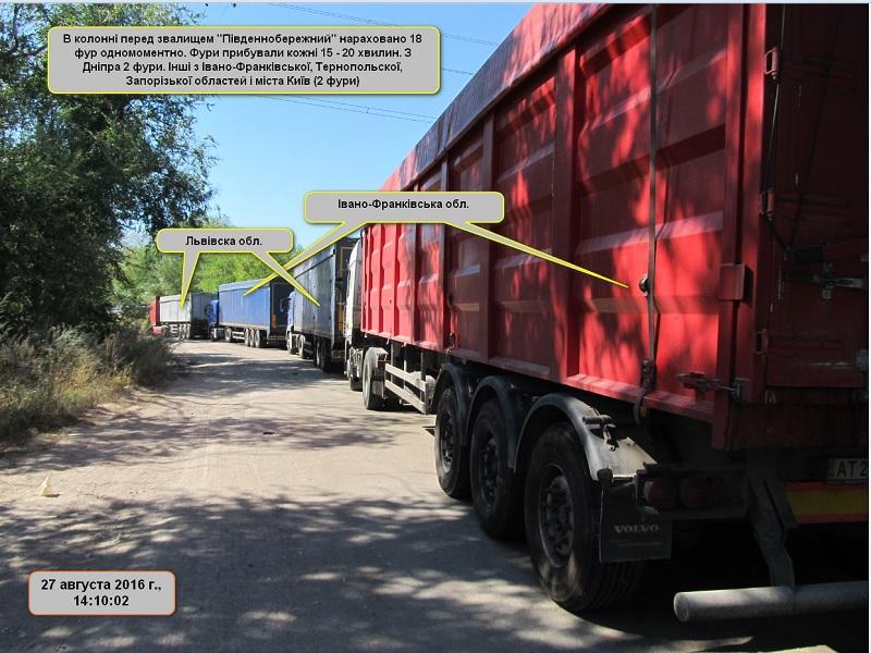 Под Днепром люди перекрыли дорогу из-за львовского мусора итребуют приезда Филатова