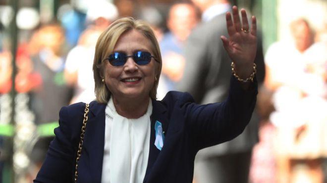 Для тех, кто сомневался: Хиллари Клинтон жива ипсихически здорова