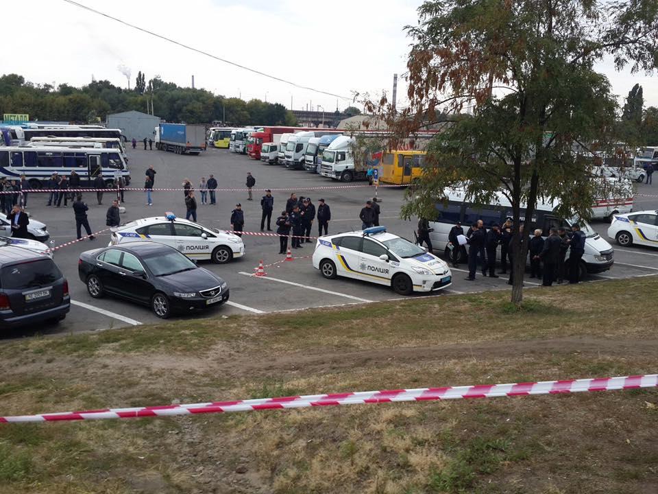 ВДнепре злоумышленник расстрелял патрульных: опубликованы фото сместа трагедии