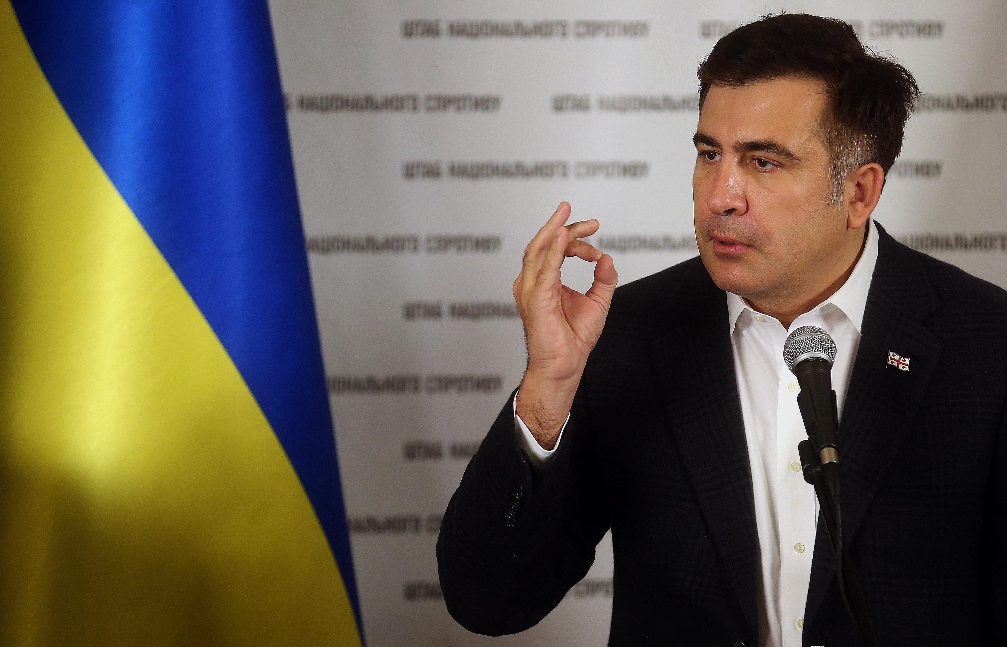 Саакашвили вГрузии встретят согласно закону— руководитель МВД