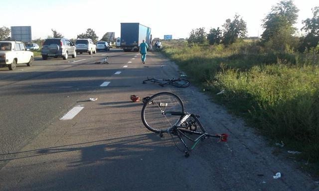 Водителя-болгарина, раздавившего велосипедистов под Киевом, оставили под арестом
