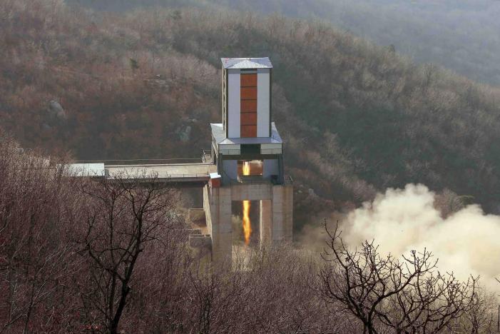 КНДР создала две межконтинентальные баллистические ракеты мобильного базирования