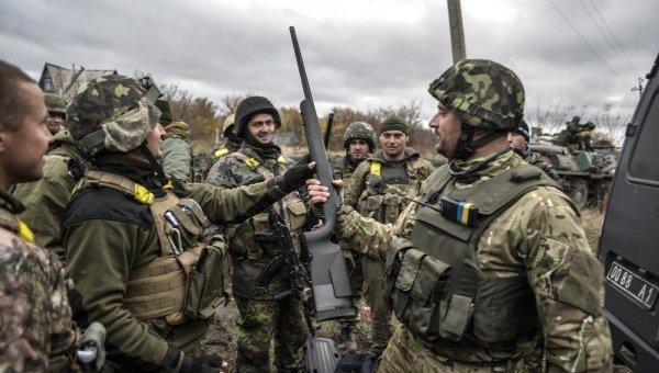 Штаб АТО: НаДонбассе ранен боец ВСУ