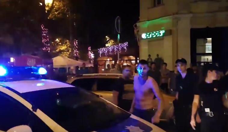 Николаевский мажор, скоторым несмогли справиться полицейские летом, снова грозил копам