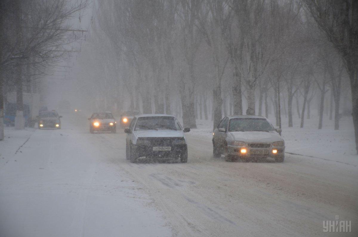 Критическое состояние аварийности на трассах в10 областях— Непогода вУкраинском государстве