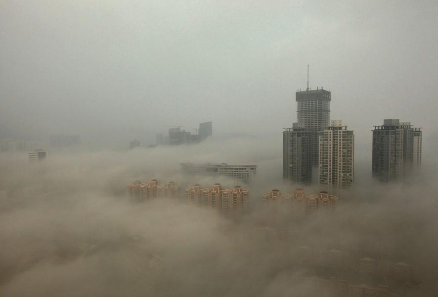 В КНР впервый раз объявлен наивысший уровень опасности из-за смога