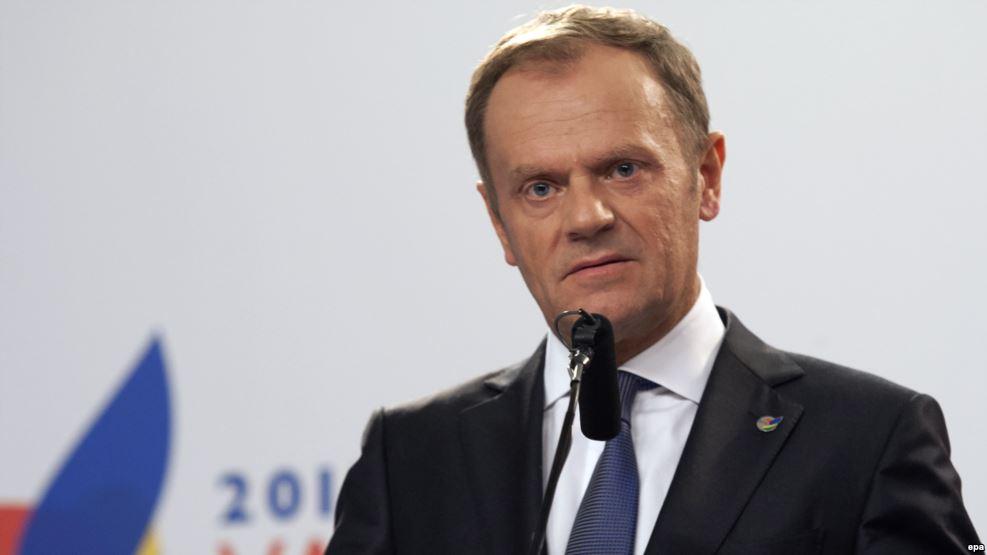 Председатель Европейского совета призывает Европу объединиться против угроз, исходящих отТрампа